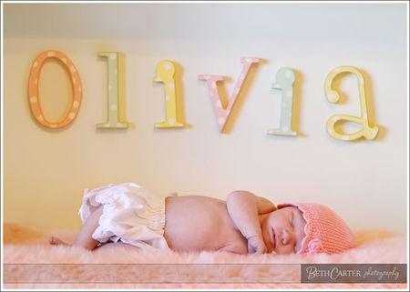 Olivia turned 1!