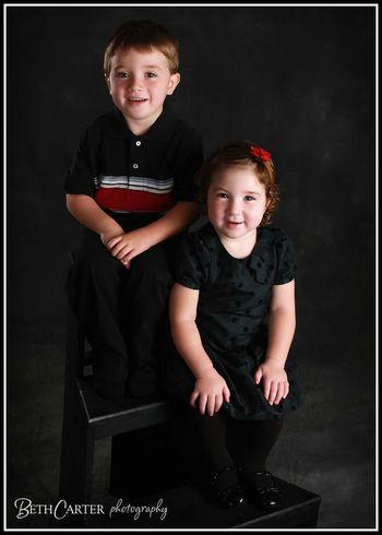 Sibling cuteness!